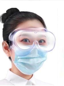 Infektionsschutzbrille für mediinisches personal in Krankenhaus und Pflegeeinrichtungen