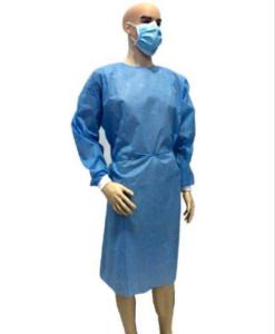 Wasserdichte Schürze, Infektionsschutz Kittel