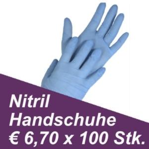 Nitril Einweghandschuhe ab € 6,70 x 100 ISO 9001:2015, ISO 13485:2016, and ISO 22000:2005 mit CE, TÜV und FDA Zertifizierung