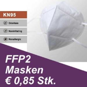 FFP2 Masken Angebot € 0,85
