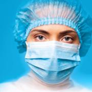 OP Maske oder Chirurgische Maske. Typ IIR Made in Germany