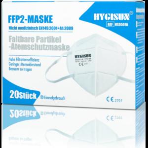 FFP2 Maske Hygisun 20 stück